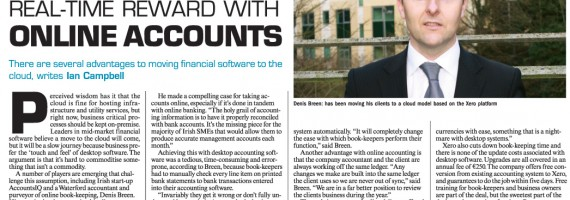 Sunday Business Post Interview February 2011
