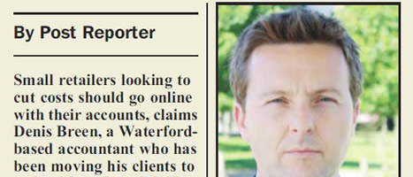 Online Accounts help to make retailers smarter - Sunday Business Post Article