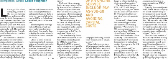 Computers in Business Article October 2011